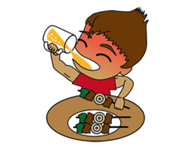 Muay Thai Fighter sticker #781455