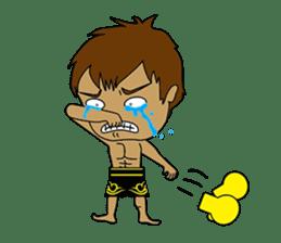 Muay Thai Fighter sticker #781459
