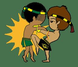 Muay Thai Fighter sticker #781461