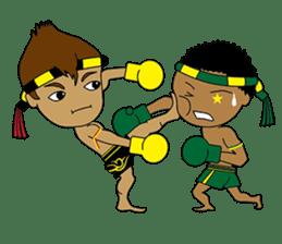 Muay Thai Fighter sticker #781463