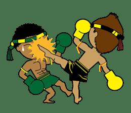 Muay Thai Fighter sticker #781464