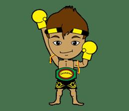 Muay Thai Fighter sticker #781467