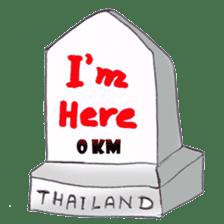I love Thailand sticker #782289