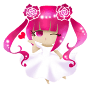 Rose Letter sticker #782721