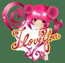 Rose Letter sticker #782742