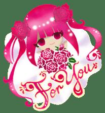 Rose Letter sticker #782744