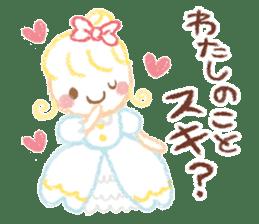 Princess in Love sticker #782952