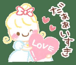 Princess in Love sticker #782959