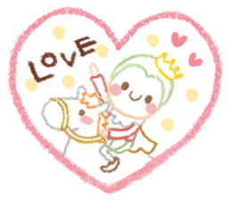 Princess in Love sticker #782961