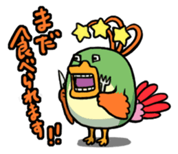 Gourmet Creature Mogumon  got food? sticker #784093