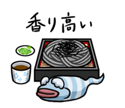 Gourmet Creature Mogumon  got food? sticker #784102