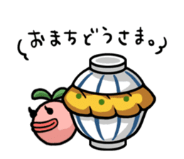 Gourmet Creature Mogumon  got food? sticker #784108