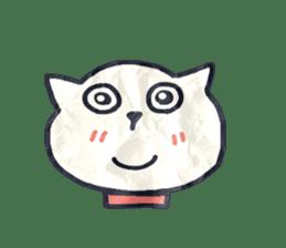 paper dog sticker #784512