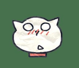 paper dog sticker #784515