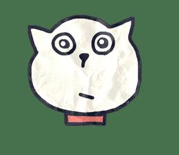 paper dog sticker #784516