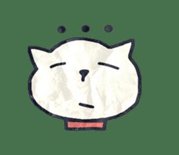 paper dog sticker #784517