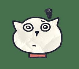 paper dog sticker #784518