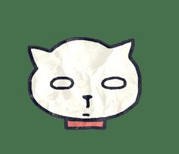 paper dog sticker #784519