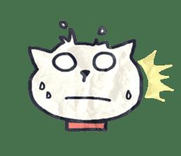 paper dog sticker #784520