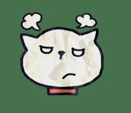 paper dog sticker #784524