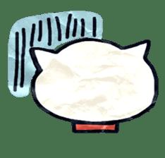 paper dog sticker #784527