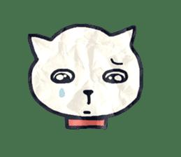 paper dog sticker #784528