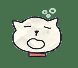paper dog sticker #784537