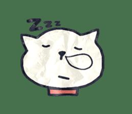 paper dog sticker #784538