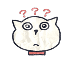 paper dog sticker #784539