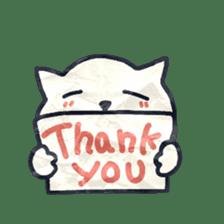 paper dog sticker #784540