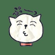 paper dog sticker #784545