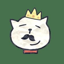 paper dog sticker #784550