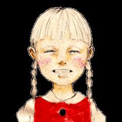 braid girl.