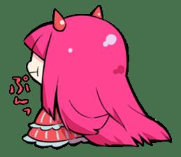 Hakaine maiko death&shout Character sticker #785294