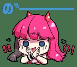 Hakaine maiko death&shout Character sticker #785308