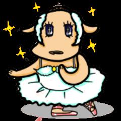 "The Ballet Dog ""Inurina"""