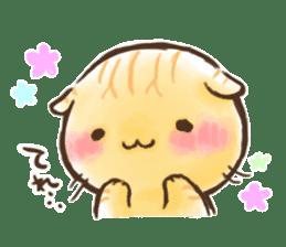 Cat Slider Stamp sticker #786970