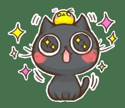 Cat Slider Stamp sticker #786980