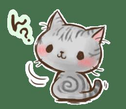 Cat Slider Stamp sticker #786981