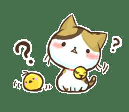 Cat Slider Stamp sticker #786984