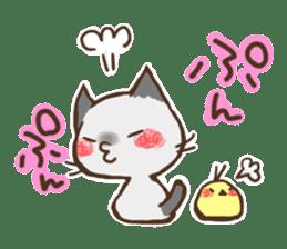 Cat Slider Stamp sticker #786989