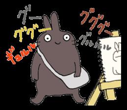 artist beret-chan sticker #787371