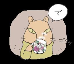 artist beret-chan sticker #787385