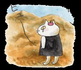 artist beret-chan sticker #787394