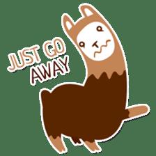 RGB Llamas sticker #787879