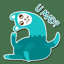 RGB Llamas sticker #787897