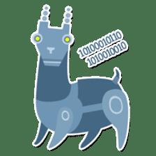 RGB Llamas sticker #787899