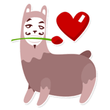 RGB Llamas sticker #787901