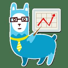 RGB Llamas sticker #787902