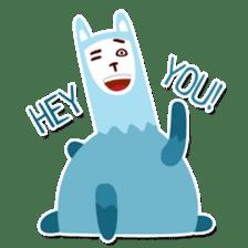 RGB Llamas sticker #787903